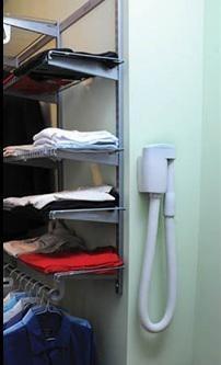 WallyFlex w garderobie