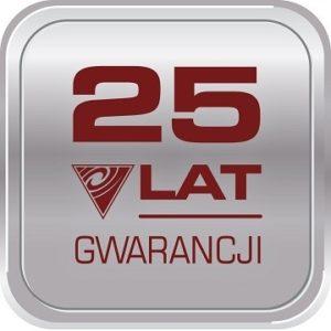 25 lat gwarancji large 300x300 - Odkurzacz centralny CycloVac GS125 + Zestaw Silver Edition
