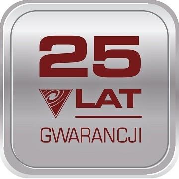25 Lat gwarancji - logo