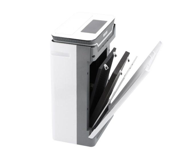 Oczyszczacz powietrza ROTENSO Q35W R10 QUBE - otwarty